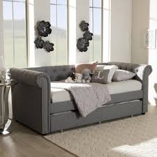 Daybed Trundle Bed Trundle Daybeds You Ll Wayfair
