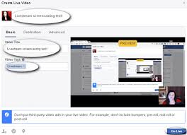 membuat video streaming dengan xp how to use facebook live from your desktop without costly software
