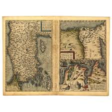 Asia Minor Map Cartography Old Maps Countries Dolls House Miniature Mytinyworld