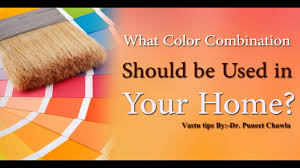 vastu shastra what color combination should be used in your home