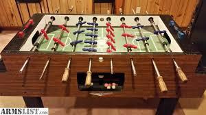 vintage foosball table for sale armslist for sale trade irving kaye hurricane foosball table