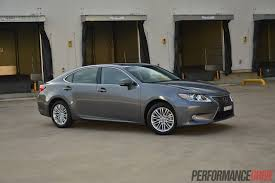 2016 lexus es 350 hybrid review 2014 lexus es 350 sports luxury review video performancedrive