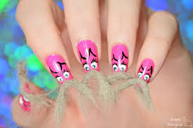 simply nailogical catstache real cat hair nails for movember