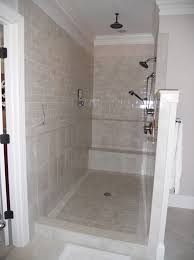 Showers Without Glass Doors The Thing Is Sure Your Shower Spray Direction Is