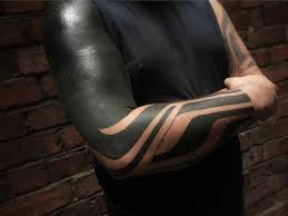 more black tattoo sleeve and hand best tattoo ideas gallery