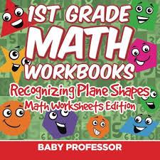 1st grade math practice book recognizing plane shapes math