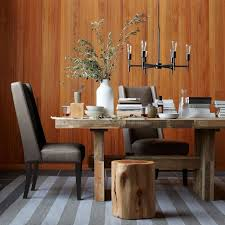 Willoughby Leather Dining Chair West Elm - West elm emmerson reclaimed wood dining table