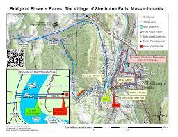 Map Of St Barts by Village Of Shelburne Falls Massachusetts Race Map