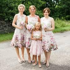floral bridesmaid dresses square floral bridesmaid dress for wedding