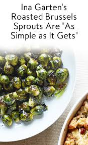 roasted brussels sprouts recipe ina garten brussels sprouts