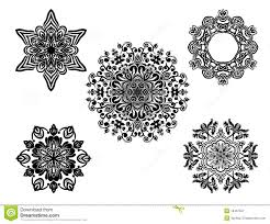 set of vector ornaments stock vector image of curve 18457557