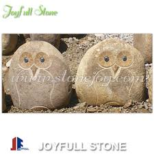 crafts rock owls garden ornaments river owls buy