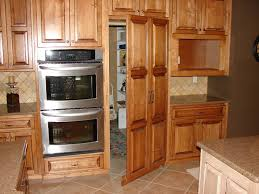 Kitchen Fridge Cabinet Cabinet Doors On Fridge Thesecretconsul Com