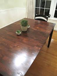Diy Wood Dining Table Top by Colossal Diy Fail Or Rustic Dining Room Table Makeover