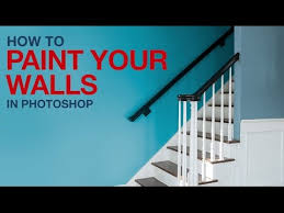 how to paint your walls in photoshop youtube