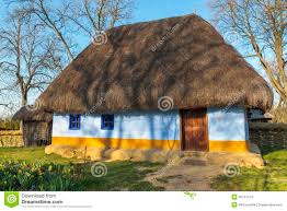 Rustic House Romanian Thatched Rustic House Stock Photo Image 42151074