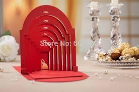 creative 3d bronzing groom wedding invitations card