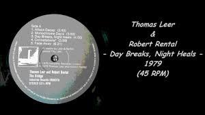 leer robert rental day breaks heals 1979 45