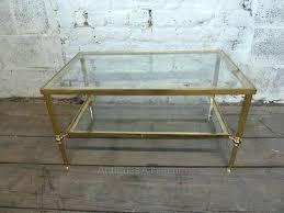 Vintage Glass Top Coffee Table Vintage Glass Coffee Table Antique Glass Top Coffee Tables