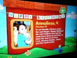 annaliese birthday wish on sprout youtube