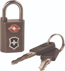 victorinox gear travel sentry key lock set