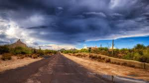 adobe house desert wonderful desert adobe house cactus storm road clouds