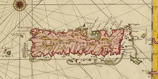 Map Puerto Rico Hispaniola Puerto Rico Bahamas 1729 Van Keulen Battlemaps Us