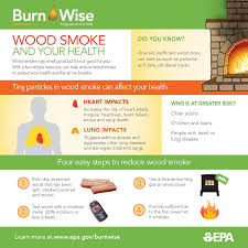 wood smoke and your health burn wise us epa