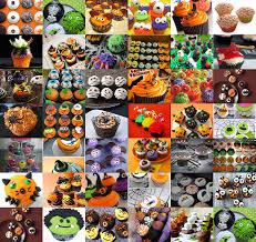 Halloween Muffins Decorations The Domestic Curator Chocolate U0026 Orange Halloween Cupcakes