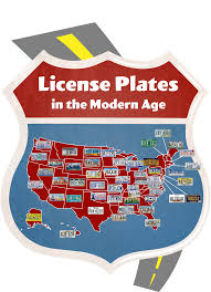 Usa License Plate Map by The Great American License Plate Map 50 Years Of Plates Rawhide