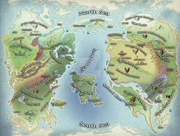 Thedas Map Thedas World Map Dragon Age By Dwarfchieftain On Deviantart At