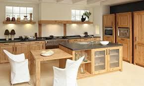 cuisine contemporaine en bois cuisine moderne en bois massif