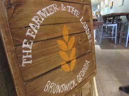 the farmer and the larder brunswick ga happily eating