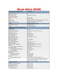 download free pdf for ricoh aficio 2035e copier manual