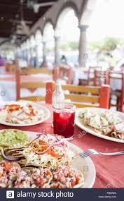 Restaurants Near Botanical Gardens Montreal Mexican Outdoor Restaurant Stock Photos Mexican Outdoor