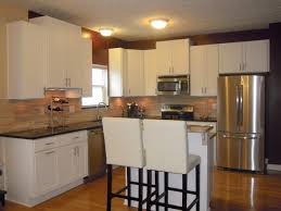Contemporary Kitchens Cabinets White Kitchen Cabinets Rockford Door Style Cliqstudios