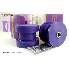 opel purple 2x powerflex pfr66 110 pu buchsen längslenker hinterachse opel