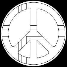 printable peace sign coloring pages coloring pages pictures