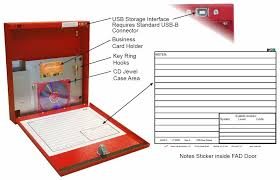 fire alarm document cabinet space age electronics ssu00685 fad fire alarm documents box
