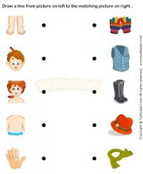 this page has a lot of free printable clothes worksheet for kids