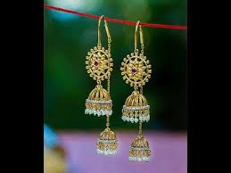 sui dhaga earrings design sui dhaga earrings designs gold earrings