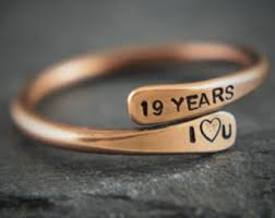 anniversary gifts jewelry bronze gift for him etsy