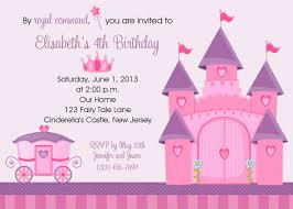 Barbie Birthday Invitation Cards Princess Birthday Invitation Template Virtren Com