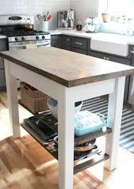 fabriquer plan de travail cuisine fabriquer un îlot de cuisine 35 idées de design créatives