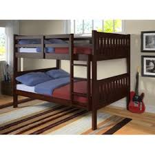 Bed Full Full Over Queen Bunk Bed Wayfair