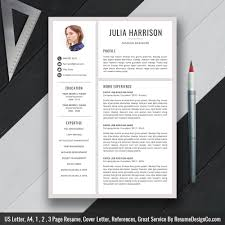 1 page resume template creative resume template word resume professional cv resume