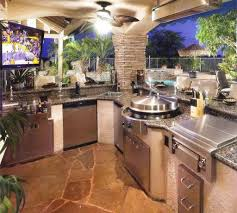 outdoors astounding outdoor kitchen kits with granite top and