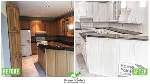 refinishing kitchen cabinets oakville painting kitchen cabinets home painters toronto