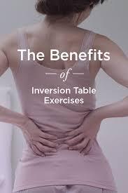 tilt table for back pain inversion table exercises for back pain