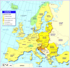 Europe 1815 Map by Map Of Europe Best Map Europe And Surrounding Countries